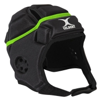 Gilbert Attack headgear 3D fit moulded design for great fit,Air vent sections provide airflow,Strategic cut out ear section.