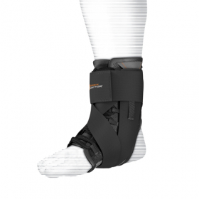 Shock Dr 851 Ultra Wrap Lace Ankle Support Anatomical Low Profile Fit with Lateral and Medial Stability, Multi-Directional Adjustable Strap Wrap.