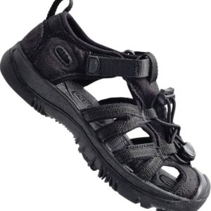 Keen Kanyno Unisex School Sandal Kids is ideal for the beach, riverbank or trail that could also be suitable for school. Secure-fit lace-capture system