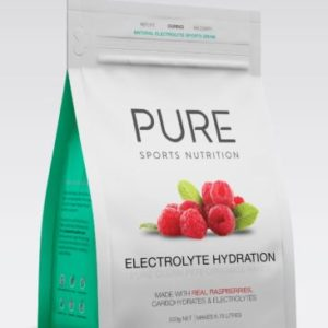 PURE Electrolyte Hydration 500g is a premium natural electrolyte drink base using real freeze dried fruit, carbohydrates and electrolytes. Rolleston