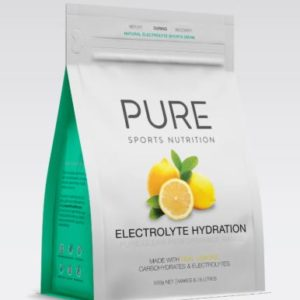 PURE Electrolyte Hydration Lemon 500gm is a premium natural electrolyte drink base using real freeze dried fruit, carbohydrates and electrolytes. Rolleston