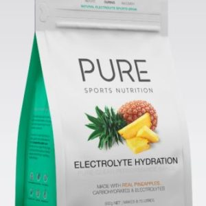 PURE Electrolyte Hydration Pineapple is a premium natural electrolyte drink base using real freeze dried fruit, carbohydrates and electrolytes. Rolleston