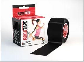 rocktape plain black strapping tape. Rollestom, Selwyn