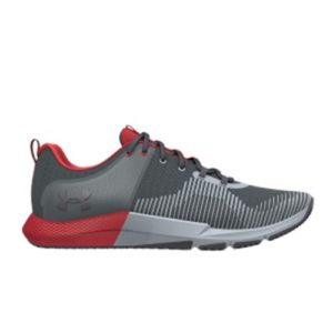 UA Men's Charged Engage Gray Lightweight, breathable upper with webbing in the forefoot to keep your foot locked-in for multi-directional movements.