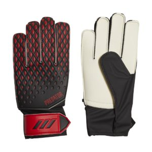 PREDATOR 20 JUNIOR TRAINING GLOVES These adidas goalkeeper gloves for juniors are ideal for training and kickabouts. Grippy latex and comfortable fit.