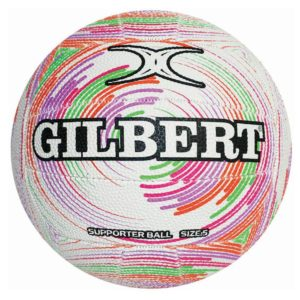 GILBERT GLAM SPIROGRAPH NETBALL Fun and modern designs ideal for the budding netballer• 2 ply rubber ball, ideal for backyard and casual use