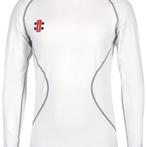 gray nicholls velocity compression top, long sleeve, white. Rolleston, selwyn
