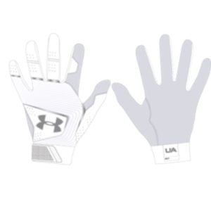 UA Mens Clean Up 19 White is a softball/baseball batting glove,made with Soft cable knit fleece provides all-day comfort, flexibility & warmth.