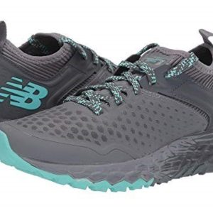 NB Womens Hierro Trail. Engineered with the trail in mind, the bootie construction of this shoe secures your foot in place for 360-degree comfort.