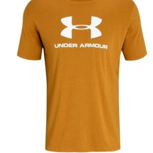 UA BOYS SS LOGO TEE YELLOW Loose:Fuller cut for complete comfortSuper-soft, cotton-blend fabric provides all-day comfort Rolleston Selwyn