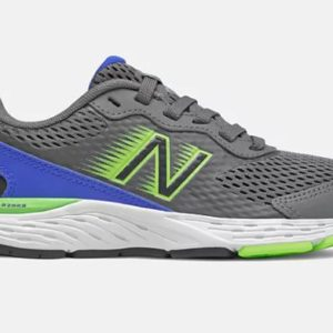 NB BOY'S 680V6 SHOE has a minimal leather and open mesh upper stitched down tip and foxing details that offer flexible support and long lasting durability. Rolleston Selwyn