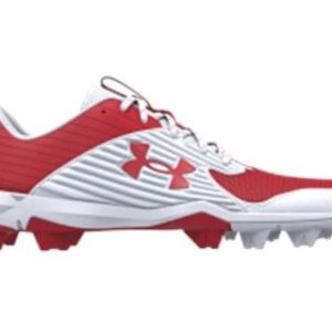 UA Mens Leadoff Low Cleats Full-length EVA midsole for added comfort, cushioning that evenly distributes cleat pressure underfoot Rolleston Selwyn