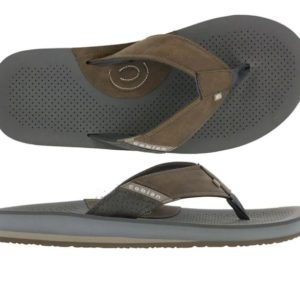 Cobian Sandal A.R.V.II - Chocolate Mens Molded topsole-Synthetic leather-Multiple densities-Custom Cobian branded outsole
