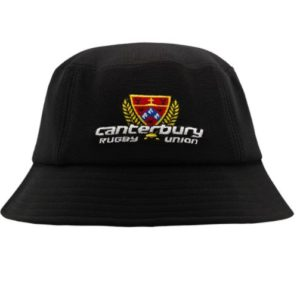 CANTERBURY RUGBY BUCKET HAT 2020 Canterbury rugby union bucket hat one size fits most Has Canterbury rugby union logo and Ray White logo. Rolleston Selwyn