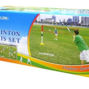 2 IN 1 Badminton & Tennis Set With the 2-in-1 Badminton and Tennis Set, you get 2 fun filled garden games for the price of one. Rolleston Selwyn