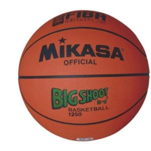 MIKASA 1250 BIG SHOOT B/BALL 5 Perfect Club / School grade basketball. Scuff resistant and sure grip rubber