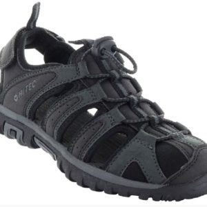 HI TECH COVE JR BLACK is a kids sandal with a closed toe for added protection. Ideal for walking on pebbly or rocky terrain on warmer days Rolleston Selwyn