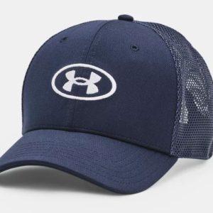 UA MEN'S BLITZING TRUCKER CAP Built-in HeatGear® sweatbands wick sweat to help keep you cool. Adjustable snapback closure Rolleston Selwyn