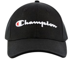 Champion Script Cap Is our Classic Cap, With script logo embroidery on the front and back, a back snap closure and unisex fit. Rolleston Selwyn