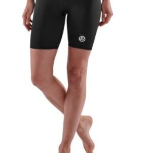 Skins Women's Half Tight S1 Firm support for the glutes, quads and hamstrings reduces muscle oscillation and fatigue. Rolleston Selwyn