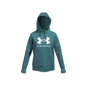 UA WOMENS RIVAL FLEECE HOODY Ultra-soft, mid-weight cotton-blend fleece with brushed interior for extra warmth Rolleston Selwyn