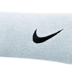 """NIKE DOUBLE WRISTBAND. Sweat is no match for the moisture wicking Nike double wide wrist bands! 5"""" length Easy care - machine washable. Rolleston Selwyn"""