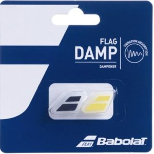 BABOLAT FLAG DAMP SHOCK ABSORB absorbs vibrations that derive from the impact between the ball and your racquet. Rolleston Selwyn