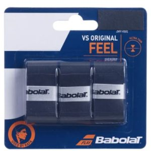 Babolat VS Original Over grip blk is one of the thinnest overgrips available. It offers a smooth, non-inhibiting surface, Rolleston Selwyn