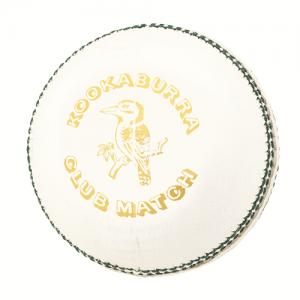 Kookaburra club match 4 piece white cricket ball