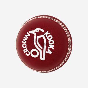 Kookaburra Crown cricket ball.156g red