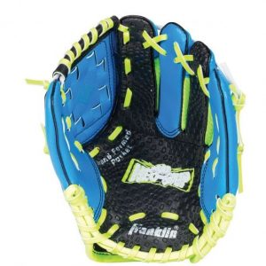 """Franklin Neo Grip LHG 9"""" Blue offers revolutionary Neo-Grip palm technology to maximize catching ability for the youngest tee ball players. Rolleston Selwyn"""
