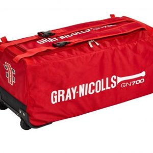 GN 700 WHEELIE BAG RED New padded shoulder strap system allows bag to be easily worn on shoulders. External bat pocket for easy access. Rolleston Selwyn