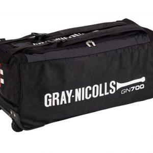 GN 700 WHEELIE BAG black New padded shoulder strap system allows bag to be easily worn on shoulders. External bat pocket for easy access. Rolleston Selwyn