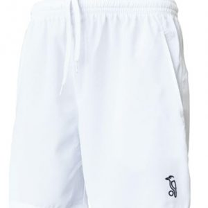 Kookaburra Player Cricket Shorts White. Athletic fit. Stretch fabric for ease of movement. Side pockets. Junior sizes Rolleston Selwyn