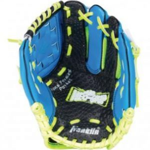 """Franklin Neo Grip RHG 9"""" Blue offers revolutionary Neo-Grip palm technology to maximize catching ability for the youngest tee ball players. Rolleston Selwyn"""
