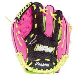 """Franklin Neo Grip LHG 9"""" Pink offers revolutionary Neo-Grip palm technology to maximize catching ability for the youngest tee ball players. Rolleston Selwyn"""