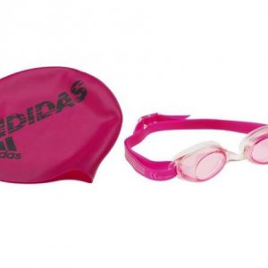 Adidas Swim Cap & Goggles A go-to for kids who live at the pool, this swim cap and goggle set will keep them in the fast lane. rolleston Selwyn