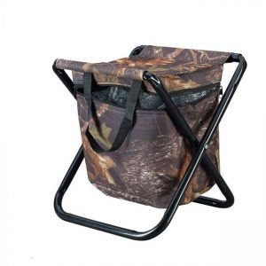 CAMP STOOL (WITH COOLER) Folding stool with built-in cooler compartment. Zippered cooler compartment keeps dinks and food close to hand Rolleston Selwyn