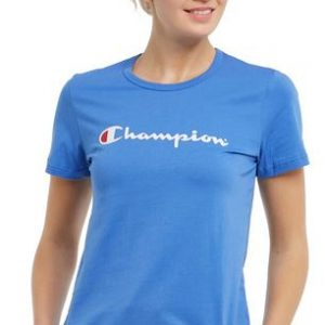 Champion Script Tee Women's A versatile short-sleeve cotton tee, ideal for active or casual wear. Add a bit of colour to your summer wardrobe Rolleston Selwyn