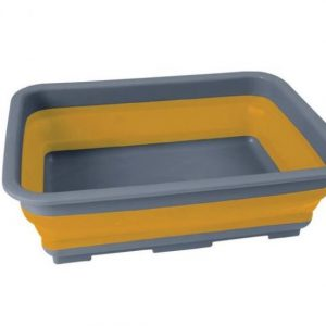 FOLDING WASH BASIN Handy collapsible 7L wash basin ideal for camping and caravanning. Strong durable PP and TPR construction Rolleston selwyn