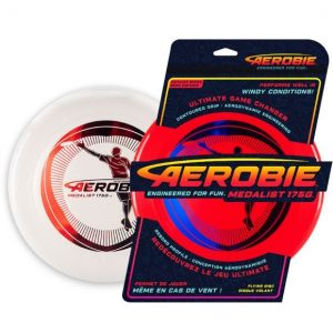 Aerobie Medalist 175g This purpose-engineered, 175-gram disc is all you and your team need to take your next game of ultimate to new heights! Rolleston Selwyn
